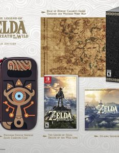 Breath of the Wild Master Edition Bundle