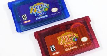 Oracle of Ages and Oracle of Seasons Custom Game Boy Advance Cartridges