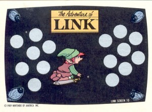 Adventure of Link card