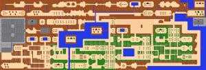 legend of zelda map