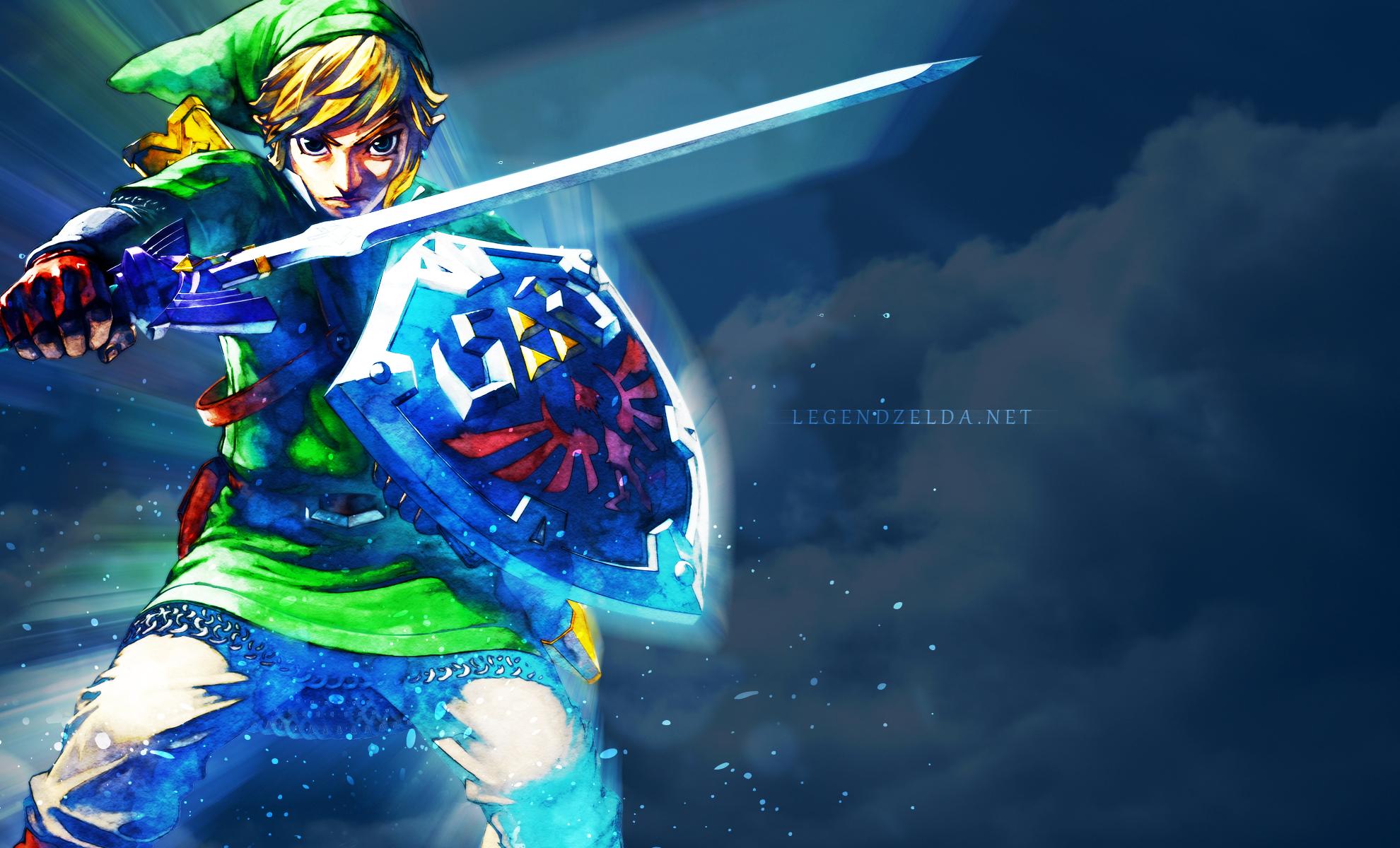 Legendzelda Net Presents Exclusive Skyward Sword Wallpaper