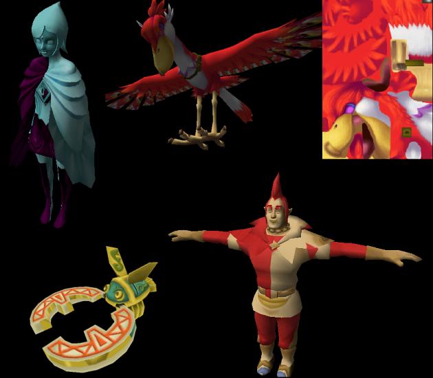 Skyward Sword Beta Models Found