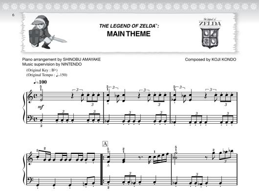 Official Zelda Sheet Music