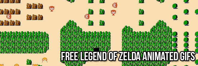 legend of zelda gifs banner