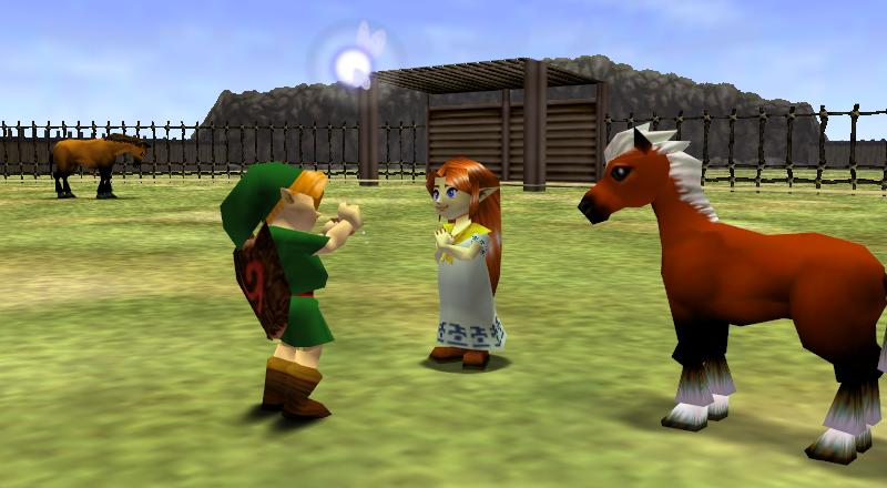 malon ocarina of time