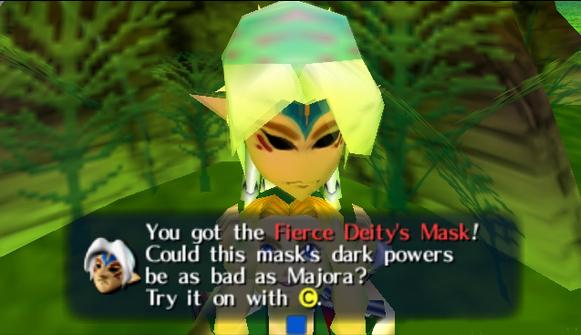 fierce deity link mask
