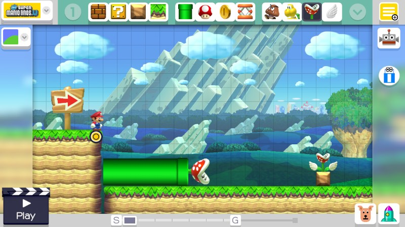 Build your own levels using the creator...