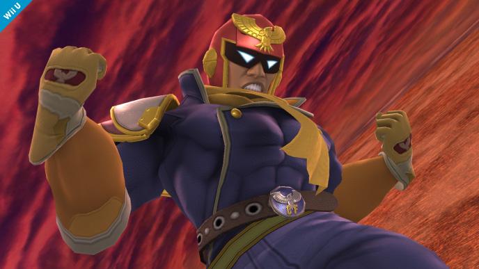 captain falcon super smash