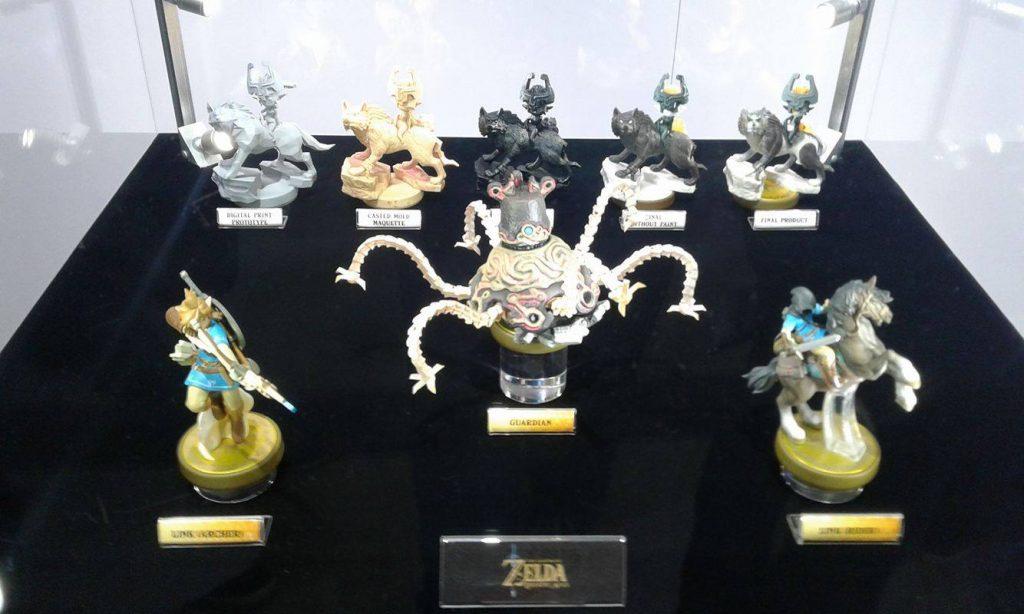 Breath of the Wild Amiibo at E3