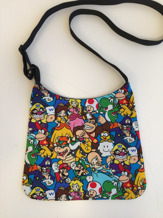 ARPCreations Super Mario Bros Bag