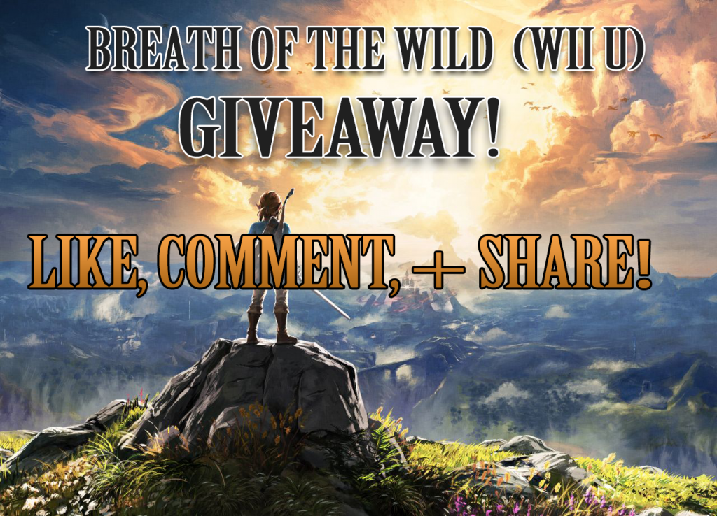 Hidden Triforce Breath of the Wild Giveaway Banner