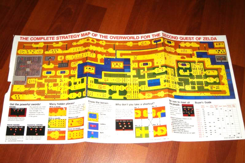 Legend of zelda retro item of the week legend of zelda map gumiabroncs Images